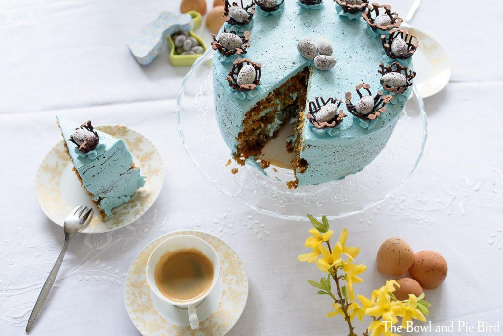 Kuchen in backform lassen