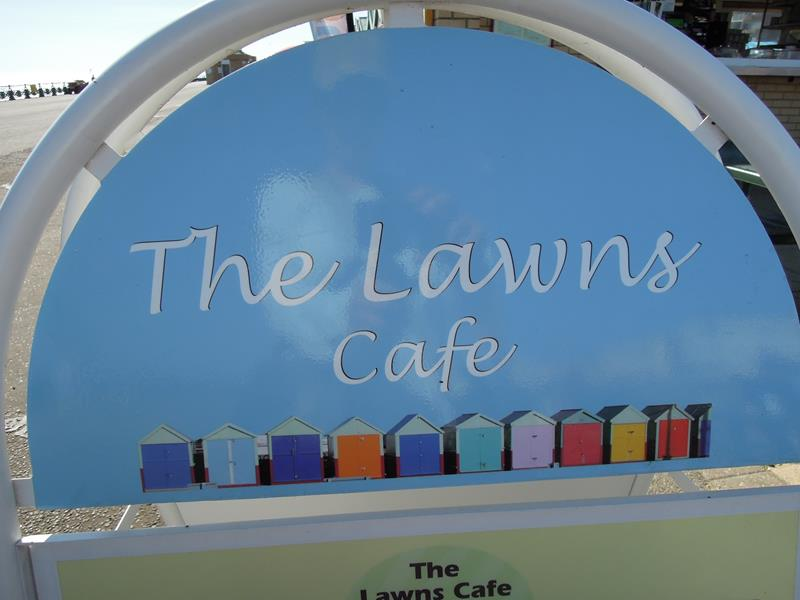 The Lawns Cafe on Hove Promenade