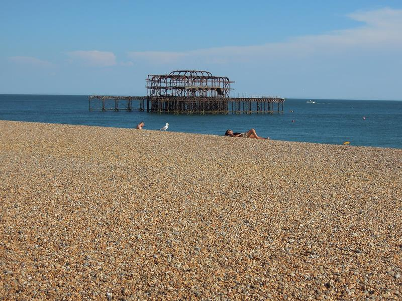 The West Pier Brighton