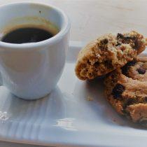 Espresso und Erdnussbutterkekse